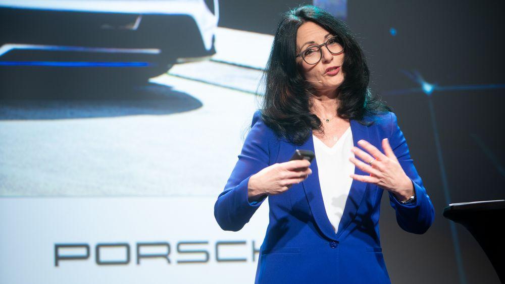 Barbara Vollert besøkte Norge i forbindelse med elbilkonferansen Nordic EV Summit i Oslo.