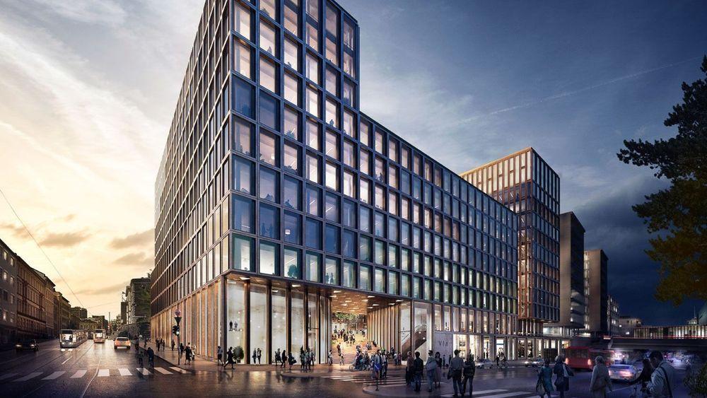 Den største kontrakten Veidekke inngikk i 2018 var Via i Vika, tidligere House of Oslo, på oppdrag fra Storebrand og Aspelin Ramm eiendom.