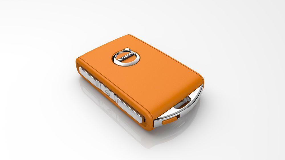 En programmerbar, oransje nøkkel blir standard fra og med 2021-modellene.