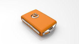 Med denne orange nøkkelen vil Volvo sikre tryggere bilkjøring
