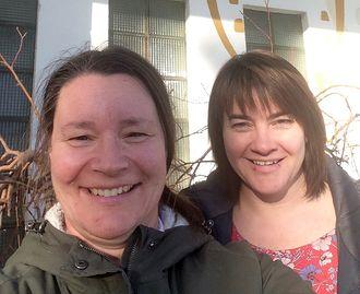 Aldri noe alternativ å gi opp: Unn Sethne (til venstre) og Linda S. Holthe lyktes endelig med å få politikerne på sin side.