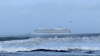 1300 evakueres fra cruiseskip i Møre og Romsdal