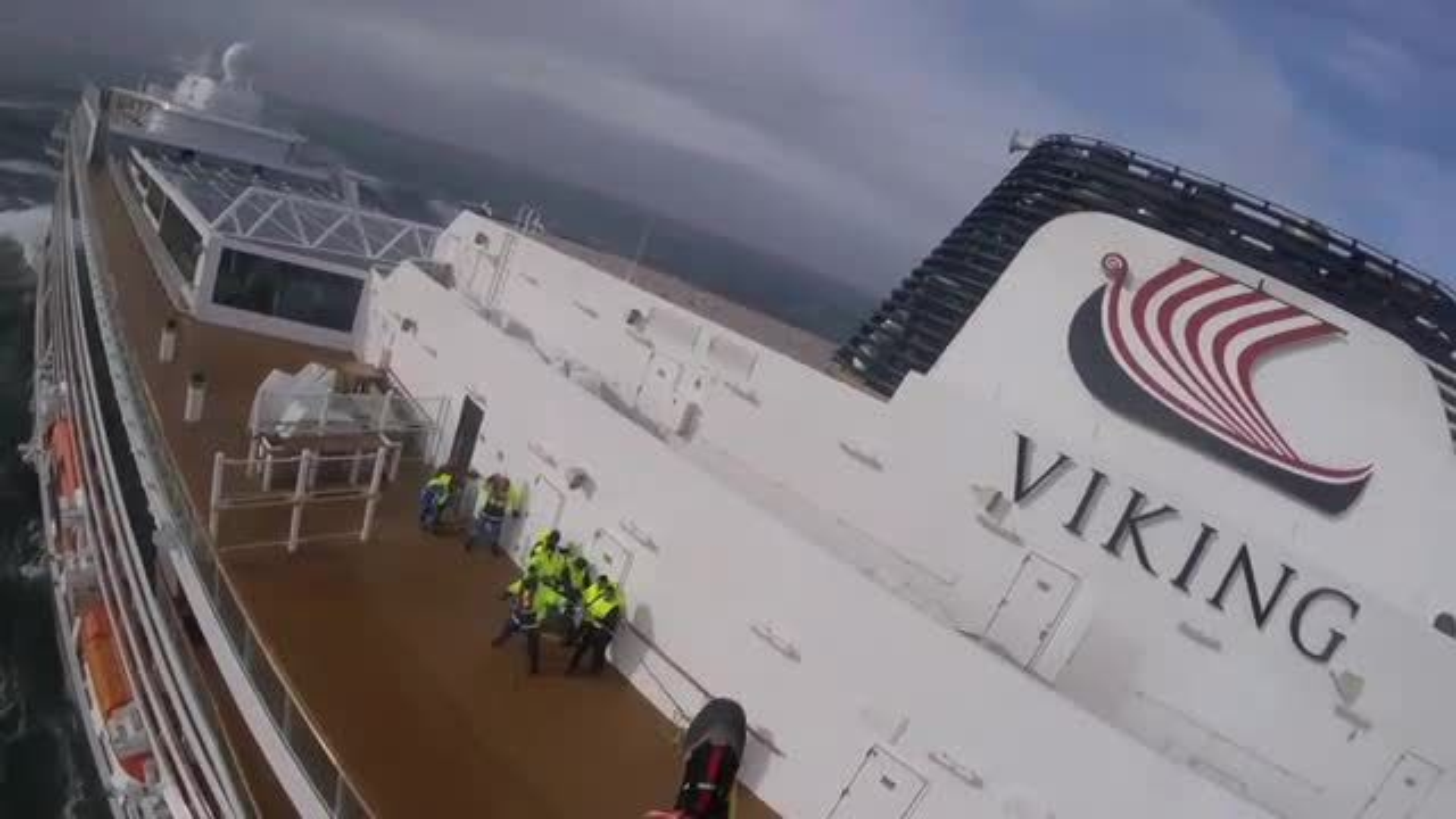 Viking Sky: Se videoene fra dramatikken om bord