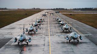 338-skvadronen legges ned: Nå flytter samtlige F-16 nordover