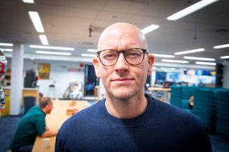 Utviklingsredaktør Ola Stenberg i VG.