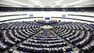 EU-parlamentet i Strasbourg