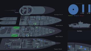 Slik kan kapteinen vite nøyaktig hvor du befinner deg på skipet til enhver tid