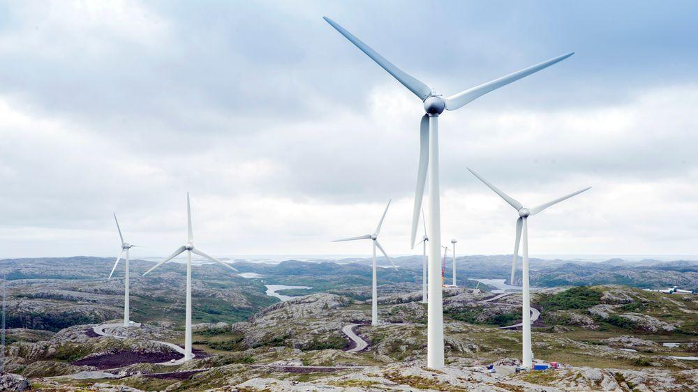 Statkraft fullfører i Fosen. Deretter vil de ikke satse på landbasert vindkraft i Norge.