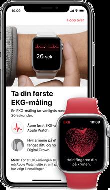 iPhone og Apple Watch