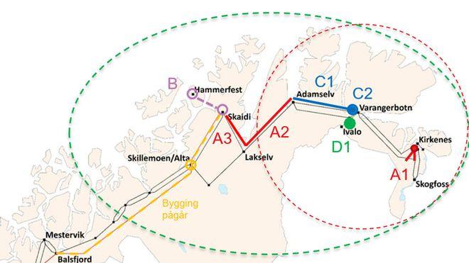 Statnett tror gruvedrift vil bidra til doblet kraftforbruk i Finnmark: Bygger 420 kV linje til Varangerbotn