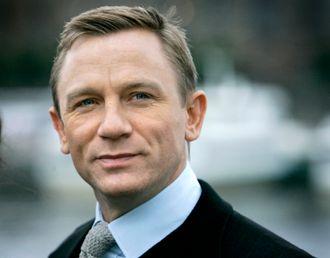 Daniel Craig, den nye James Bond, var på besøk i Stockholm