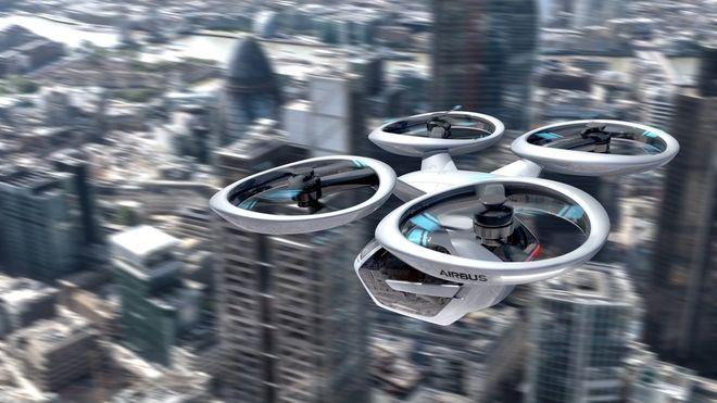 Kan dronetaxier bane vei for fremtidens transportsystem?