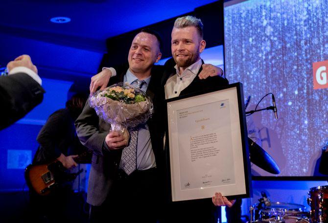 Gjesdalbuen vinner årets digitalpris på LLAs landsmøte i Drammen 2019.