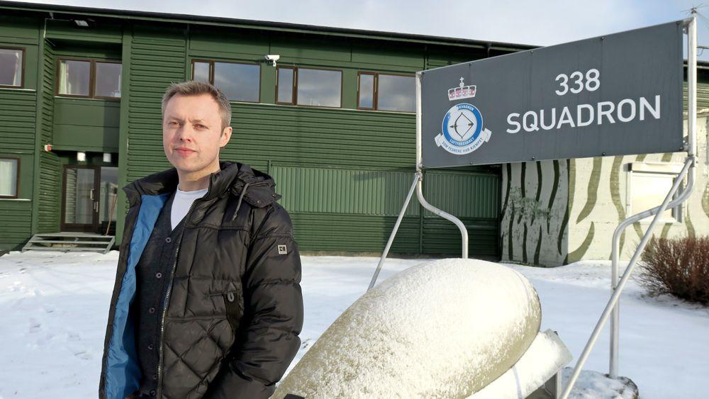 Teknisk Ukeblad traff oberstløytnantIvar Magne Stene søndag kveld, mens han forberedte mandagens seremoni som betyr at skvadronen han er sjef for, legges ned.