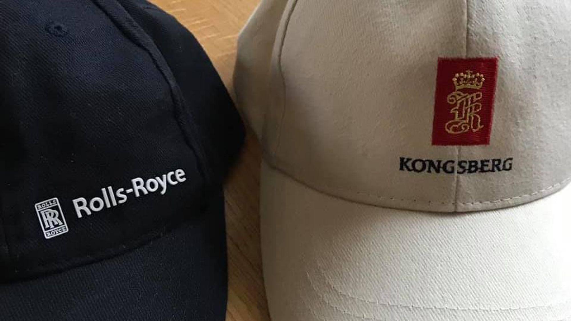 Mandag 1. april bytter 3.600 mennesker rundt om i verden hatter og capser - fra Rolls-Royce til Kongsberg.