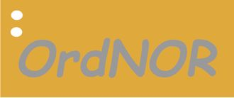 Den nye OrdNOR-logoen.