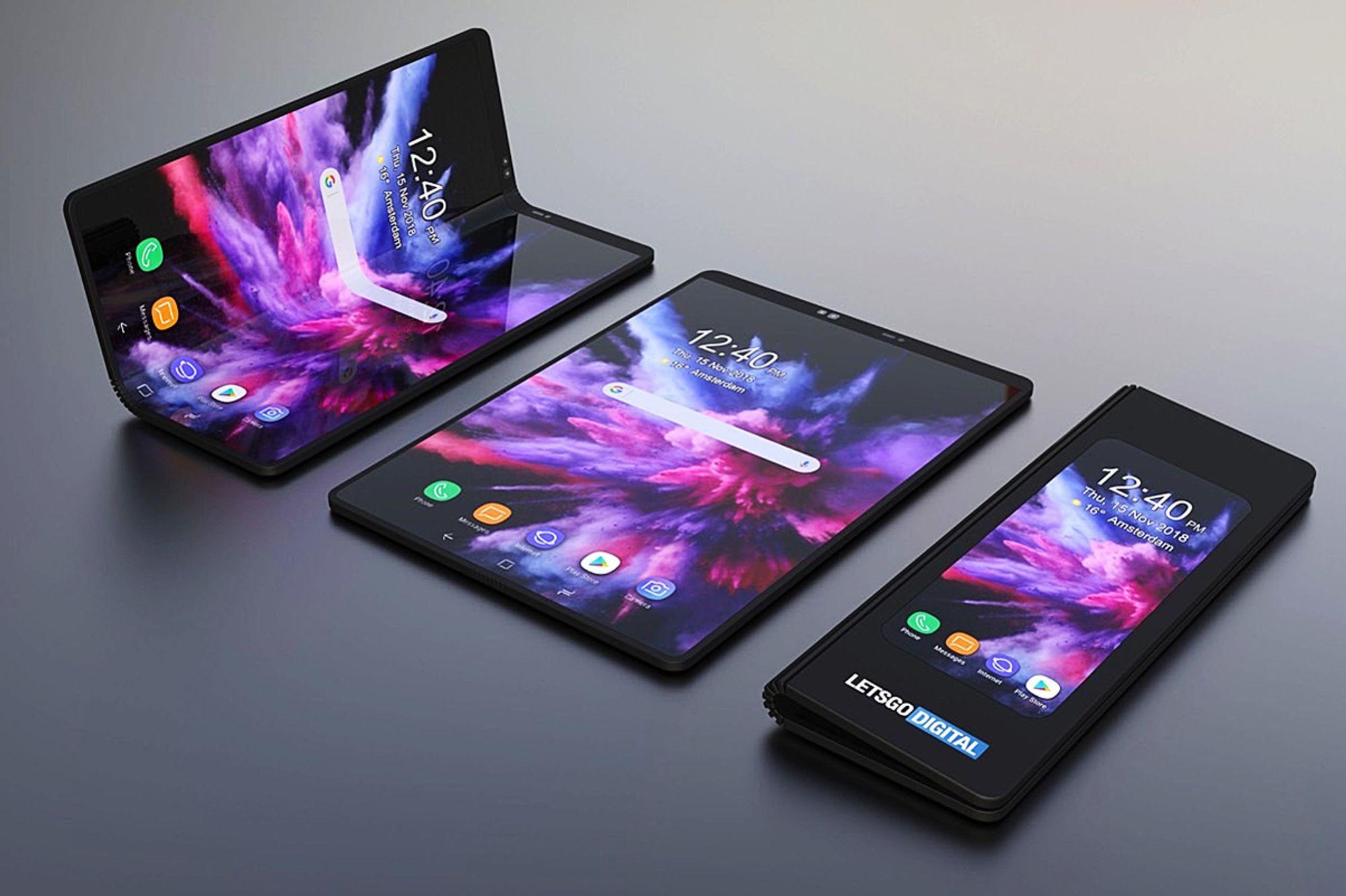 85fecaa6 Samsung Galaxy Fold vil koste 21.000 kroner, og Norge blir blant de første  markedene for nyvinningen. Foto: Samsung