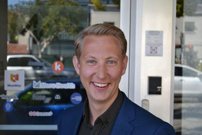 Svend Aspaas (24) var i vinter kommunikasjonspraktikant i Silicon Valley.