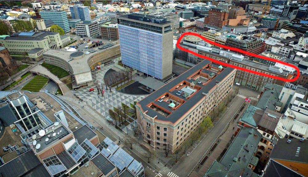 1. april 2019 startet Statsbygg og entreprenør Veidekke rivingen av Regjeringsbygg 4 og Møllergata 17.