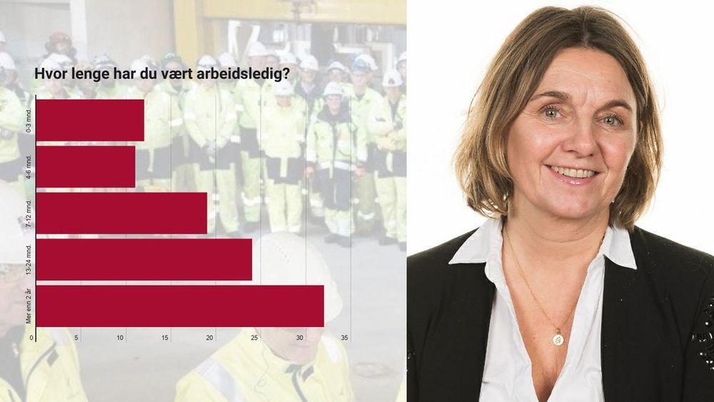 Elisabet Kvinnesland, rådgiver i NITO Rogaland, er tett på de arbeidsledige ingeniørene.