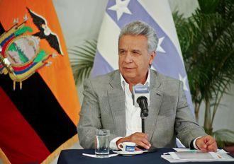 Ecuadors president Lenin Moreno.