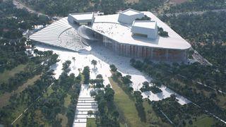 Snøhetta tegner det nye operahuset i Shanghai - blir dobbelt så stort som operahuset i Bjørvika
