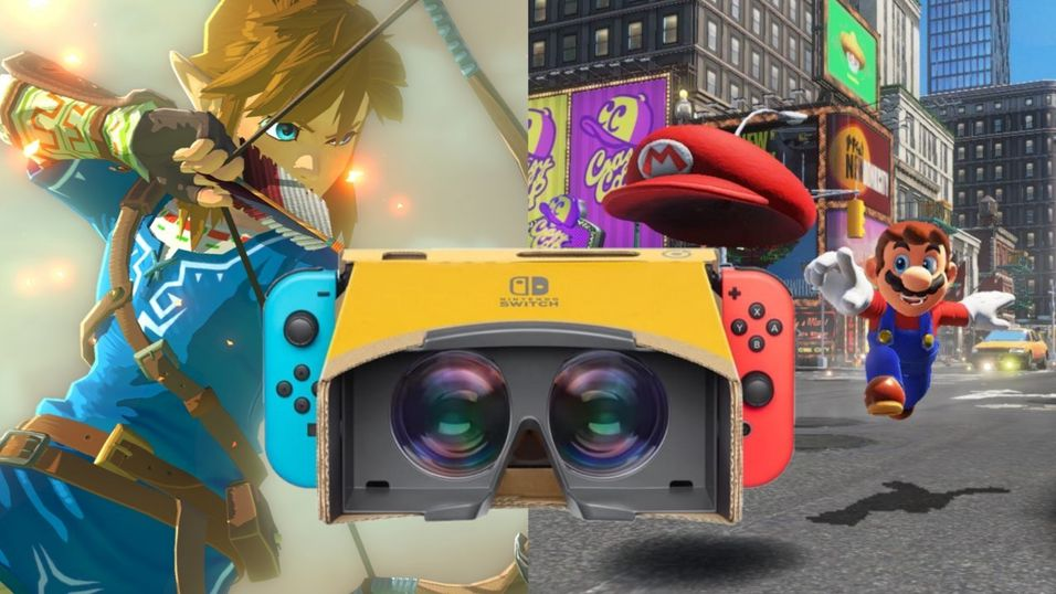 Breath of the Wild og Super Mario Odyssey får egne VR-moduser