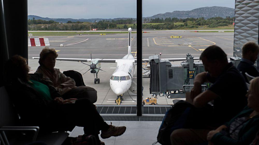Radarproblemer stanser flytrafikken på Vestlandet fredag morgen.