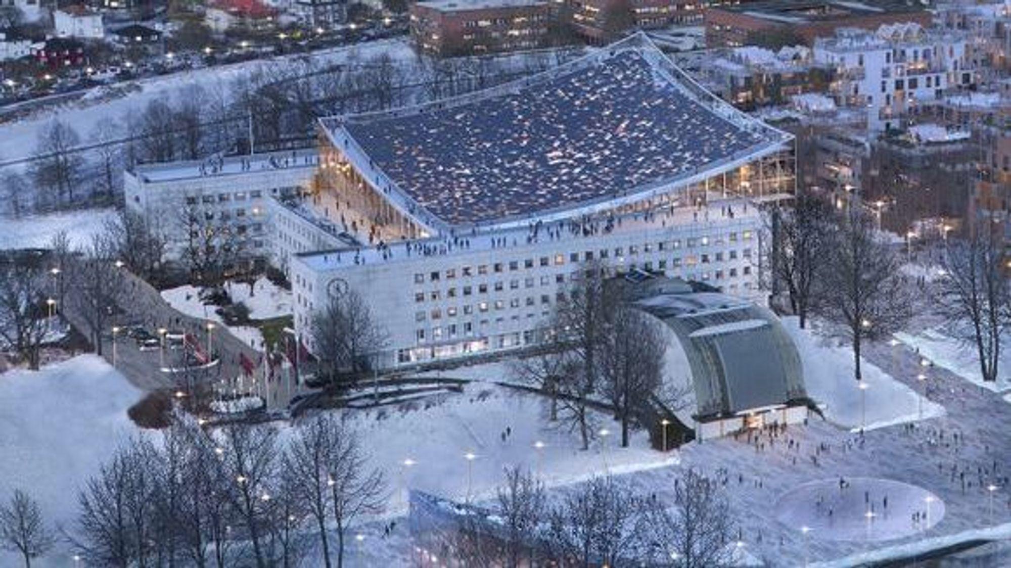 Som på Operaen blir det fri ferdsel på taket hvis Ferd og Snøhetta får det som de vil.