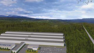 Planlagt gigafabrikk i Mo i Rana skal lage elbilbatterier med nordiske materialer
