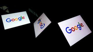 Illustrasjonsbilde av Google-logoer.