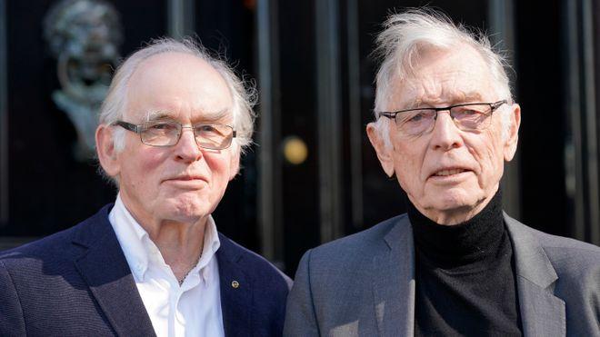 Eilif Holte (t.v) og Rolf Kåresen