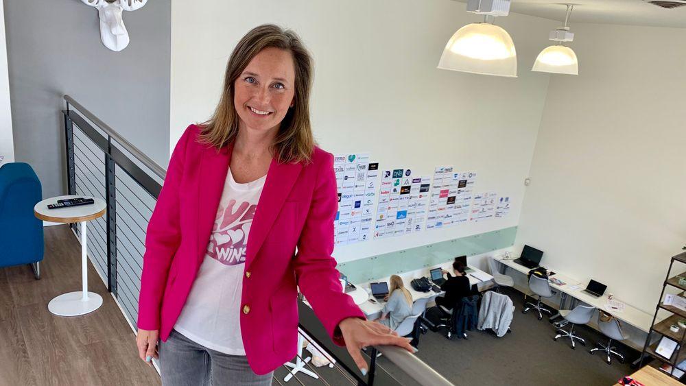 Gro Dyrnes i Innovasjon Norge og Nordic Innovation House.