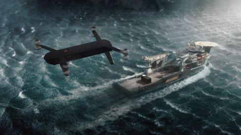 Bellona vil frakte søppel til skip til havs med kraftige droner
