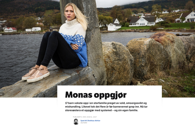Monas oppgjør - NRK