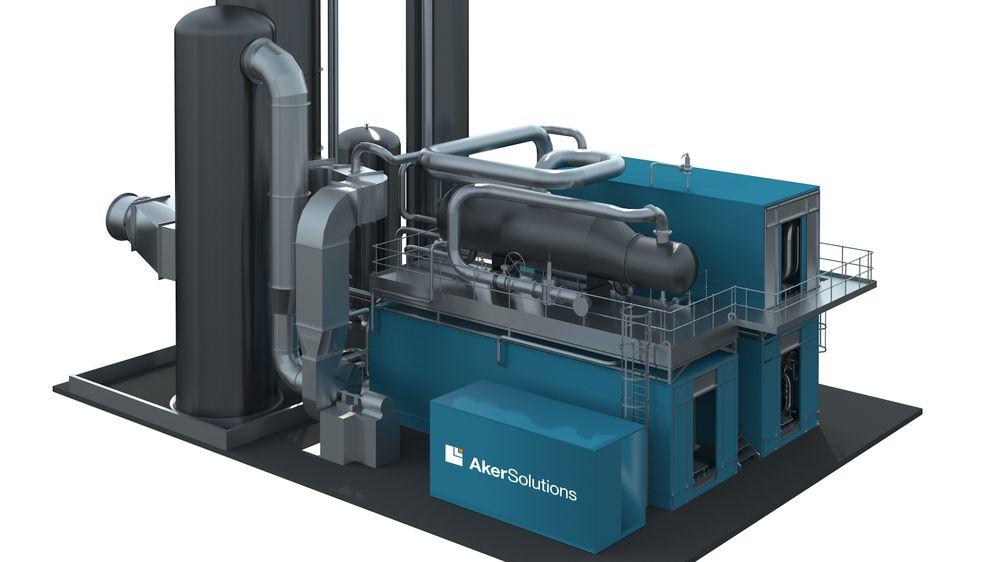 Aker Solutions har solgt det første karbonfangstanlegget av deres egenutviklede, standardiserte teknologi, «Just catch». Det skal installeres på et avfallsforbrenningsanlegg i Nederland.