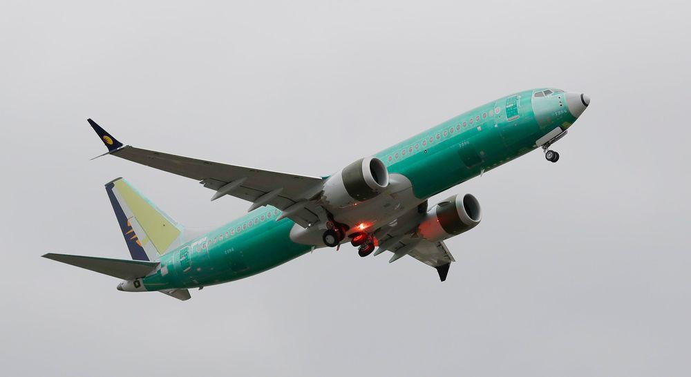 Et Boeing 737 MAX 8-fly. Flytypen har blitt satt på bakken over hele verden etter to dødsulykker.