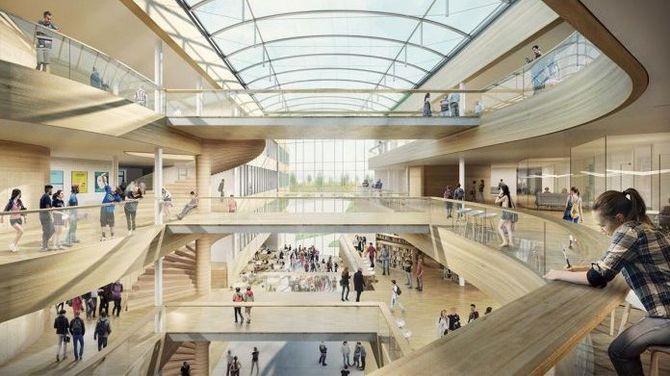 Horten VGS trapp arkitekt risa meyer tron