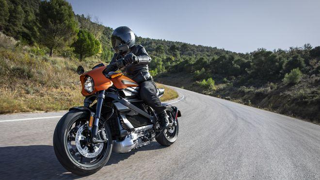 Nå kommer de elektriske motorsyklene