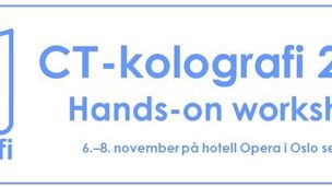 CT-kolografi hands-on workshop 2019