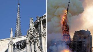 Brannen er slokket. Men Notre-Dame kan fortsatt rase sammen
