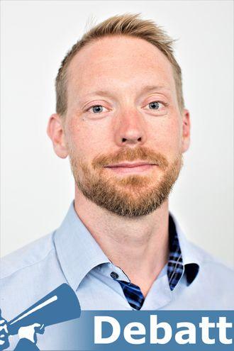 Lars Løvlie,  portrett