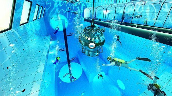 Snart kommer svømmehaller med 50 meters dybde