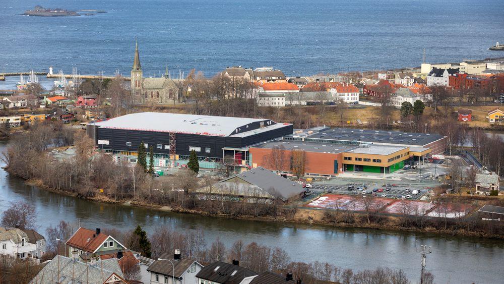 Trondheim Spektrum er en gruppe flerbrukshaller på Øya i Trondheim. Utbyggingen av idrettshallen har kostet rundt 500 millioner kroner.