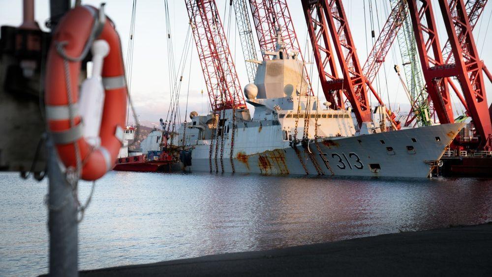 Forsvarssjefen bekrefter at fregattforliset i november 2018 har svekket forsvarsevnen.