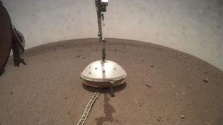 Se det som trolig er historiens første registrerte Mars-skjelv