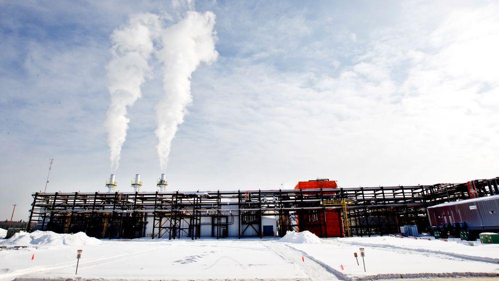 Et anlegg i Leismer i Canada hvor Statoil drev oljesand-utvinning i 2011. Selskapet, som i dag heter Equinor, solgte seg ut av denne virksomheten i Canada noen år senere.