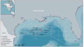 Stort oljefunn i Mexicogolfen - Equinor eier 19 prosent