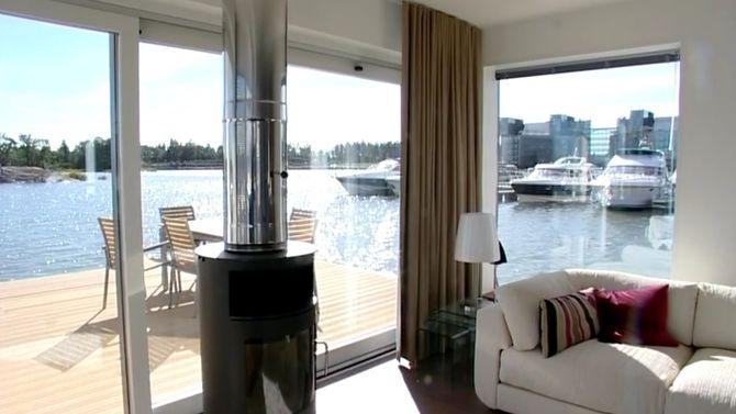 Horten havneby indre havn flytende boliger