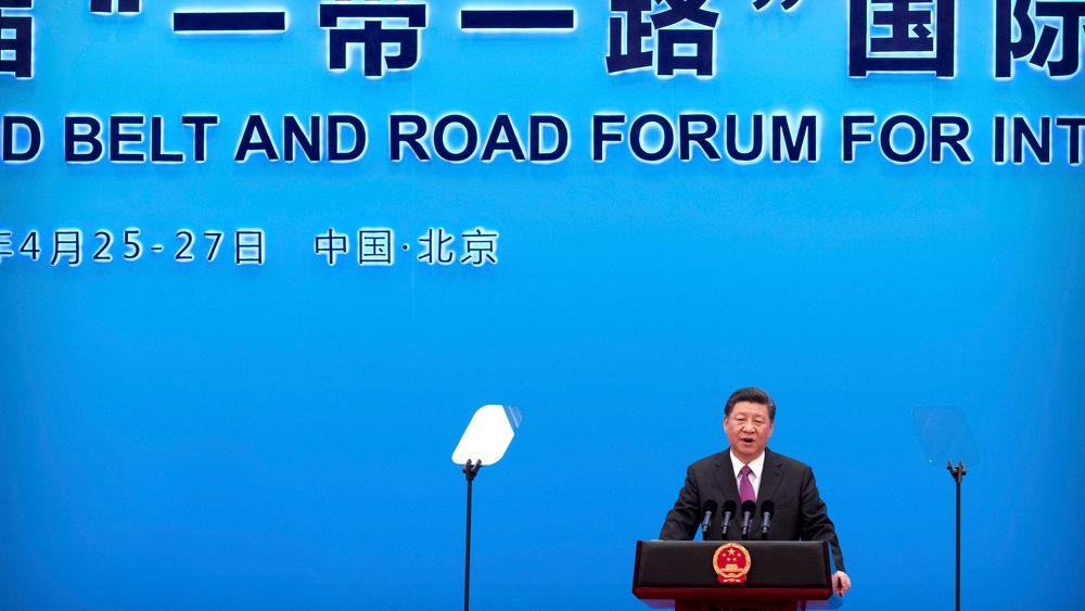 – Vi er fast bestemt på å støtte en åpen, ren og grønn utvikling og forkaste proteksjonisme, sa president Xi Jinping lørdag.